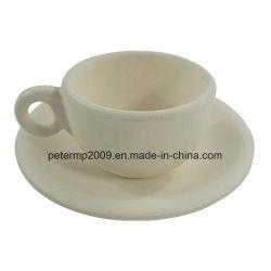 Биоразлагаемые волокна из бамбука кофейные чашки кружка/Пользовательские цвета Сосуд с ручкой