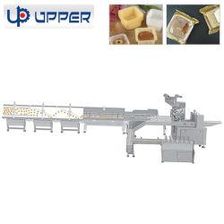 パンのケーキのビスケットチョコレート流れの枕パッキング機械装置の自動パッキング機械