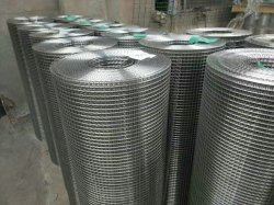 Ss 304 en acier inoxydable 316 Fabrication de treillis métallique soudé