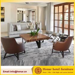Гостиная мебель кушетка диван Set/холл, отделанной деревом место Председателя