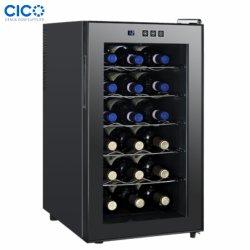 48L 18 Wijn van de Ijskast van de Halfgeleider van de Deur van het Flessenglas de Elektrische Koelere jc-48c