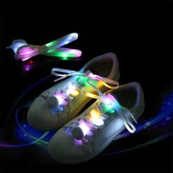 Cadeau de Noël LED clignotant lacets Glow lacets de chaussure pour l'exécution/jogging/marche/Danceing
