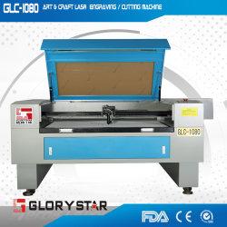 Heißer Verkaufs-Nichtmetall CO2 Laser-Ausschnitt und Gravierfräsmaschine