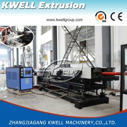 Venda de fábrica de PE/PP/tubo de PVC fazendo a máquina , Fio/Tubo de protecção de cabos Coxim Extrusor