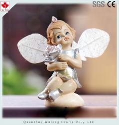 주문품 가정 훈장 작은 아기 Polyresin 천사 작은 조상