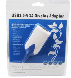 3.0 до USB адаптер VGA, с АБС Shell