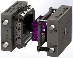 Kundenspezifisches Plastikspritzen/Hilfsmittel-Form für SelbstParts/LED LCD Fernsehapparat Fram/Motorrad-Teile