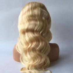 Ombre vierge 100 % de Tissage de cheveux brésiliens Cheveux humains Lace Front Wig