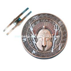 레이저 로고가 있는 3D Antique Copper Yo(Ele-C061)