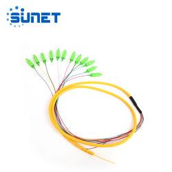 12 ядер оптоволоконным кабелем для распределения пучками отвод