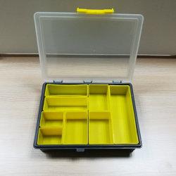 Caja de plástico de aparejos de pesca señuelo de verificación con el medio ambiente PP