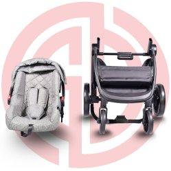 Der einfache BabyPram transportieren Baby-Kinderwagen-Baby-Spaziergänger 3 in 1