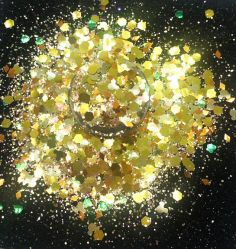 Grueso brillante Oro Glitter Chunky Glitter para embarcaciones