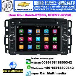 """Buick-8723G, chevy-8723G Buick Chevrolet Gmc 7 Video van de Auto van de Navigatie van WiFi van de Radio van de Auto van het Spel van de """" Auto 2 GPS van de Speler DVD van DIN de Stereo Van verschillende media van de Speler Anti-Glare Androïde"""