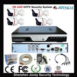 De goedkope Waterdichte 4CH Uitrusting van de Camera DVR van kabeltelevisie van Ahd Standalone met Verfdoos 4 de Adapter van de Macht van de Kabels van Broodjes