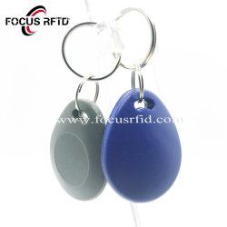 Groothandel LF UHF Leder sleutelhouder Plastic Tags ABS Business Sleutelhanger-smartcards