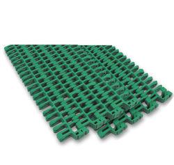 Nastro trasportatore modulare di plastica della cinghia a livello di griglia dei 1615 raggi