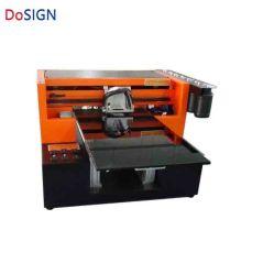 طابعة نفث الحبر بالألوان بحجم A3 تعمل بآلة الطباعة بالجلد مع الصقل