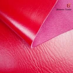 Em relevo/Elephant Tecido de couro com pêlo de Trás/sofá Fabric