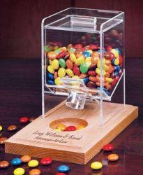 Los alimentos dulces de acrílico transparente de plexiglás Backery Contenedor de pantalla