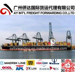 O frete marítimo global para o Ruanda da China