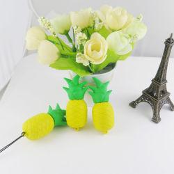 Forma Personalizzata In Pvc Silicone Fashion Cute Forma Ananas Funny Forma In Silicone Custodia In Silicone Usb