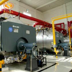 Revêtement en acier inoxydable Brûleur fioul Chaudière à vapeur industrielle