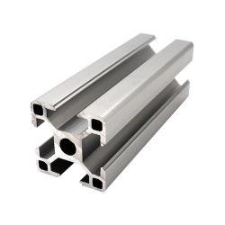 Zilver Geanodiseerde Legering van het Aluminium 8mm Groef 3030 het Industriële Profiel van het Aluminium voor Frames