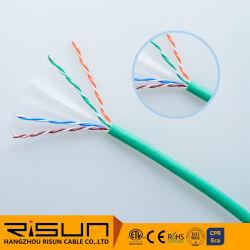 Grueso Cable de red UTP CAT6 con revestimiento de PVC