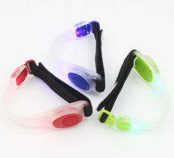 Jogging LED-armband, reflecterende LED-armband