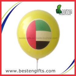 Het gele Helium de V.A.E van de Kleur markeert de Afgedrukte Ballon van het Latex voor Bevordering