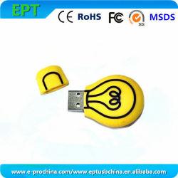 Forme de lampe en PVC personnalisés Disque mémoire flash USB (EG500)
