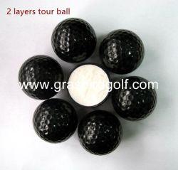 Grasbird coinciden con pelota de golf El equipo de golf de primera calidad color negro.