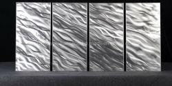 Calma prima dell'arte Tempesta-Astratta della parete del metallo del pannello,