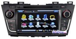 De Adapter van Bluetooth voor Mazda 5 StereoGPS van de Speler DVD Multimedia van Navi Headunit van de Navigatie