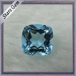 정연한 Hot Sale 3X3mm Natural Sky Blue Semi Precious Topaz
