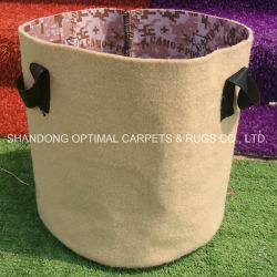 Coltivare i sacchetti per il fiore della pianta che pianta il POT astuto del tessuto