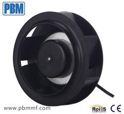 175mm DC sin escobillas del motor del ventilador ventilador centrífugo curvados hacia atrás