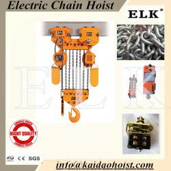 20 Tonnen-doppelte Geschwindigkeits-Ketten-elektrische Kettenhebevorrichtung-Japan-Art Hoistwith elektrische Laufkatze