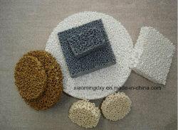 Керамические губчатый фильтр для фильтрации (материал: карбид кремния, глинозема, Magnesia обедненной смеси,)