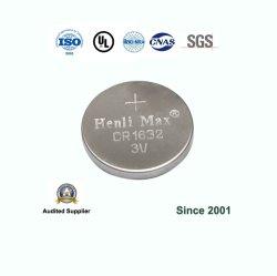 Henli Max CR1632 de 3V primaria de la pila de botón de litio batería tipo moneda