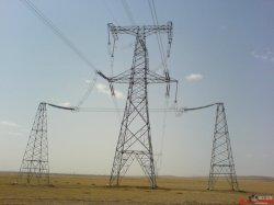 Torre tubular de acero galvanizado en caliente la potencia de transmisión eléctrica