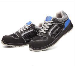 Het werk het Dragen beschermt Uw Schoenen van de Sporten van het Leer Pu van de Veiligheid Lichtgewicht
