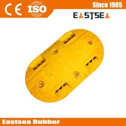 黄色い円形の太陽プラスチック道の騒音ドーム
