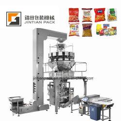 내뿜는 공장 공급 질소 포장 말린 과일 해바라기 씨 칩 식사 캐슈 견과 렌즈콩 포장기의 무게를 달기