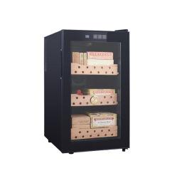 48L con doble puerta Cigarros Humidor Gabinete Caja de madera