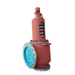 ANSIのフランジの端の炭素鋼の安全弁圧力安全弁のガスボイラーの蒸気タービンの発電機
