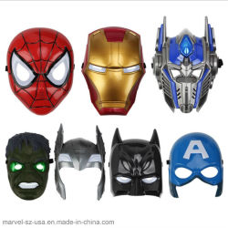 Brillante LED Cosplay Super Hero Regalos Halloween Party Mask Juguetes