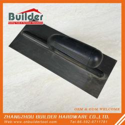 カスタム手は煉瓦工のステンレス鋼の黒い塗るこてに用具を使う