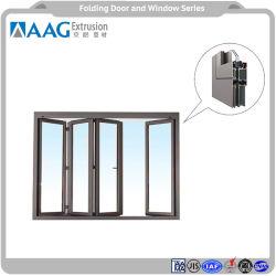 Material de construção de LED da porta e janela Perfil de alumínio